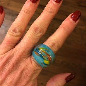 Jewelry - 5/$15 Item ⭐️ Whimsical Glass Look Ring